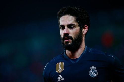 Isco has barely seen any playing time since Santiago Solari took over as Real Madrid's man