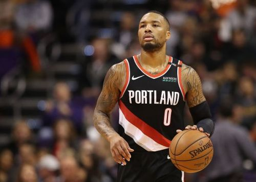 Damian Lillard was the star for Portland on the night