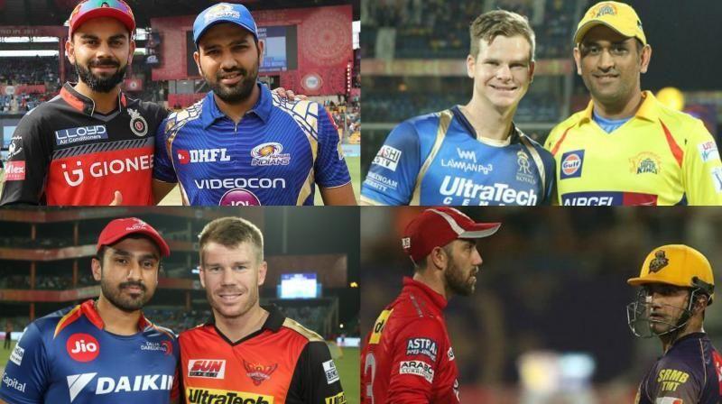 Ipl Series All Teams Captains