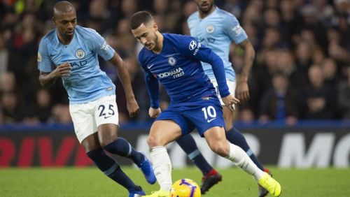 Man City hosted Chelsea at the Etihad.