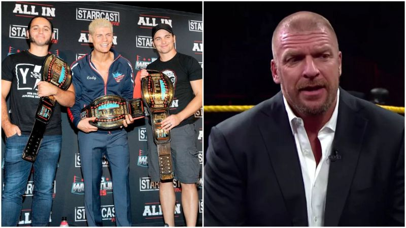 Cody & The Young Bucks and Triple H are the Executive Vice-Presidents of AEW & WWE respectively