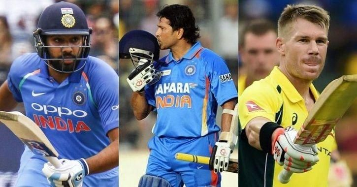 Rohit And Sachin And Warner Best International Cricket Openers