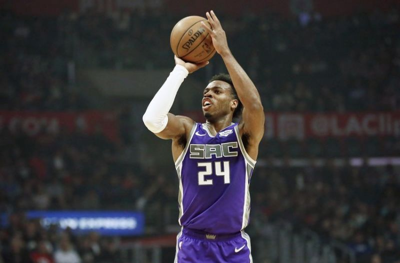 Buddy Hield was part of the NBA All-Rookie First team in 2017.