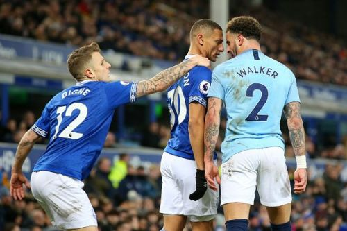 Already on a red card for the year - Richarlison was benched against City