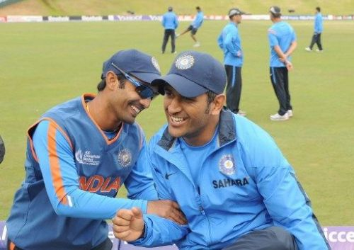 Dinesh Karthik and M.S. Dhoni, the pupil and the master