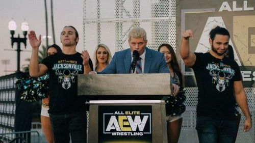 Will Cody Rhodes announce a television deal at AEW's February 7th rally?