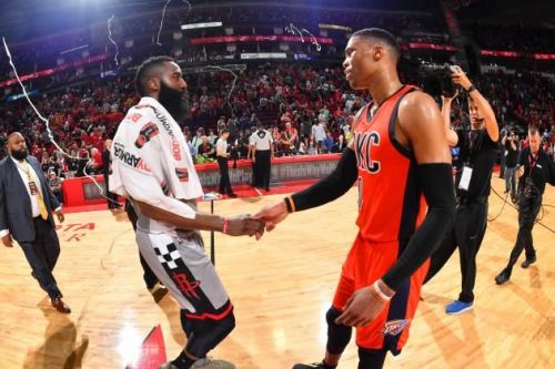 Westbrook and Harden have come a long way since being teammates in OKC