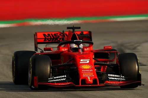 Vettel was fastest overall on Day 1.