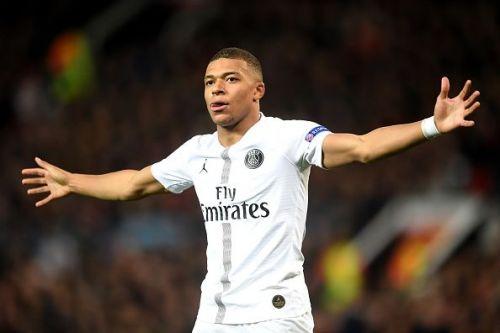 Mbappe scored yet again in a PSG win