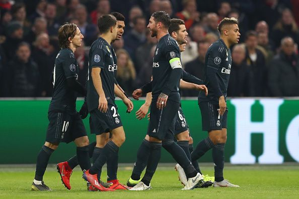 09934606cd7 Real Madrid will be looking forward to winning their fourth consecutive Champions  League trophy