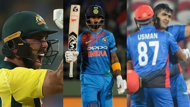 Glenn Maxwell moved 2 places while KL Rahul moved 4 places in ICC T20I rankings. Hazratullah Zazai, meanwhile, jumped 31 places to march into the top 10 In Batting Ranking