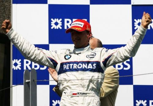 Robert Kubica got Sauber's only win in F1 under the BMW sponsorship.