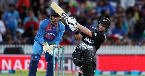 Colin Munro was namthe Player of the Match for his fine batting performance