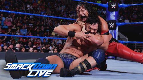Dillinger's last match on SmackDown was against Shinsuke Nakamura.
