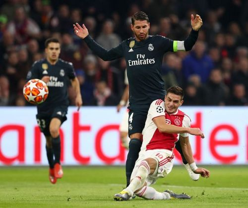 Due to the yellow card, he will miss the second leg because of suspension