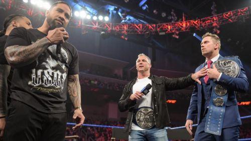 WWE Elimination Chamber 2019: The Usos vs Shane McMahon and The Miz