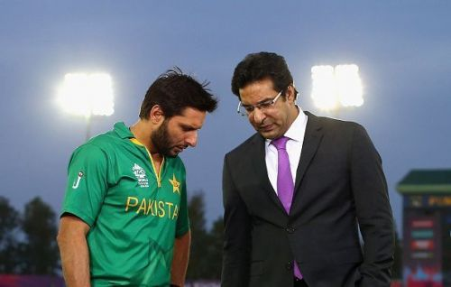 Images of iconic players like Shahid Afridi and Wasim Akram were removed from the PCA stadium