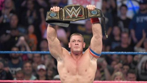 John Cena is a 16-time World Champion
