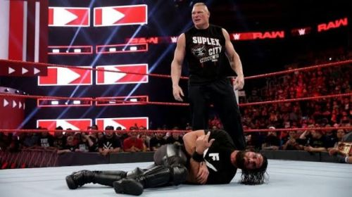 Lesnar and Rollins