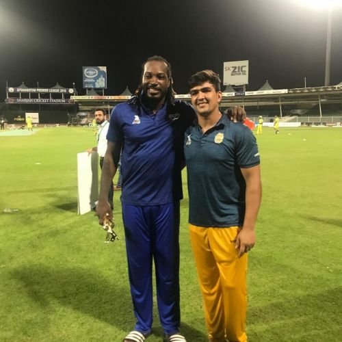 Chris Gayle is the idol of Afganistan's explosive batsman Hazratullah Zazai