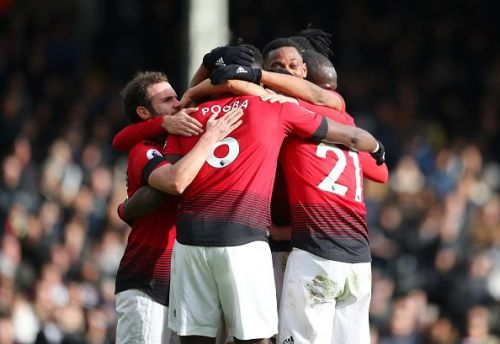 Manchester United rose to fourth place with a 3-0 victory