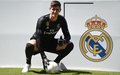 Thibaut Courtois joined Real Madrid from Chelsea last summer