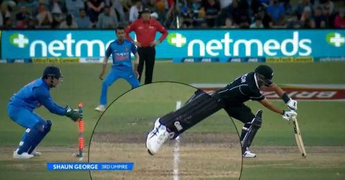 MSD getting Taylor stumped by the thinnest of margin