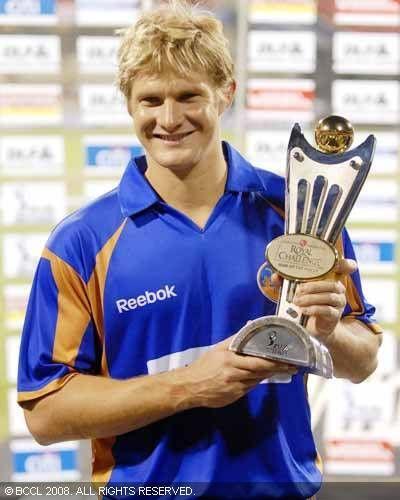 Watson was instrumental in RR winning the inaugural IPL trophy in 2008