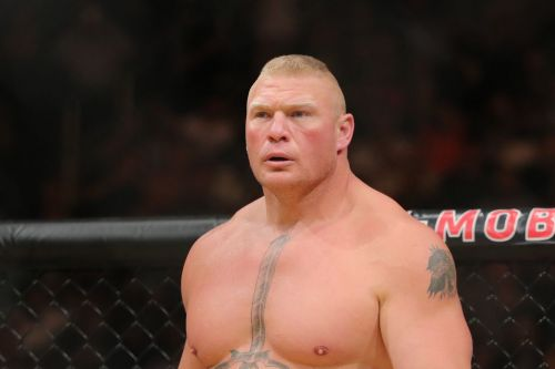 Brock Lesnar is at the center of, but not only go involved in bringing WWE style to UFC.