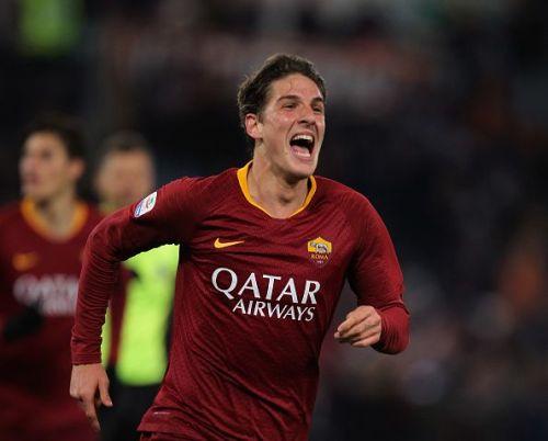 19-year-old Roma wonderkid Nicolo Zaniolo