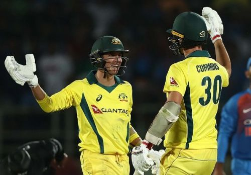 Australia's never say die attitude was on full display in the 1st T20I