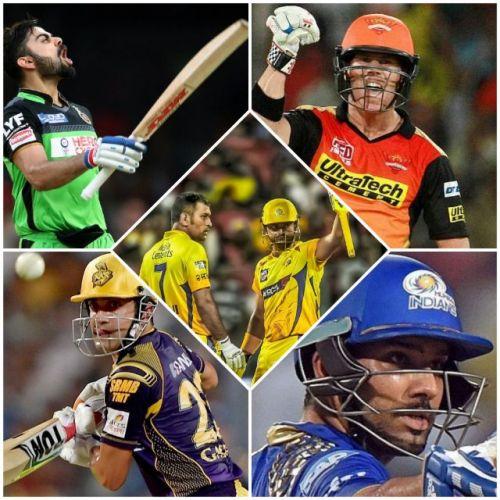 Top 5 IPL 50's