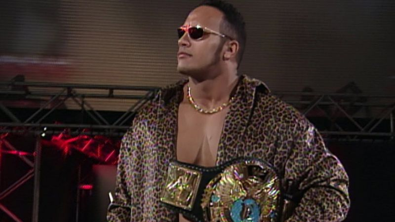 The Rock turned his back on the people to become WWF Champion.