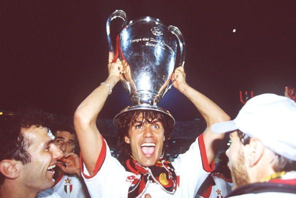 AC Milan destroyed Barcelona to win the trophy in 1993/94