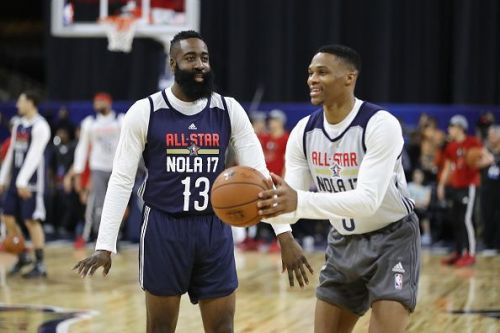 Russell Westbrook and James Harden are on impressive streaks