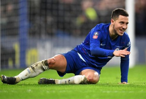 Eden Hazard v Manchester United - FA Cup Fifth Round