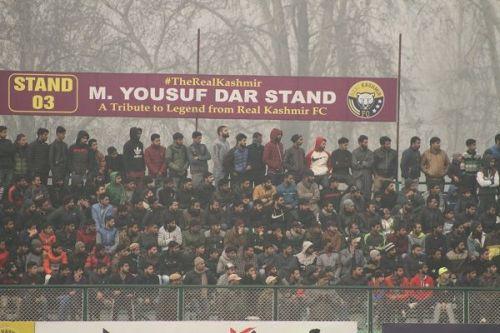 Real Kashmir fans in Srinagar (File picture)