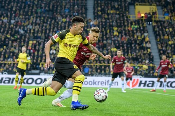 Jadon Sancho has been an inspiration for other English talents looking for moves to the Bundesliga