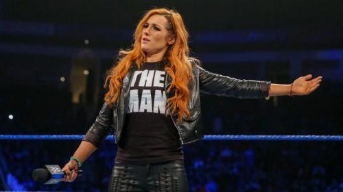 Becky Lynch was seen on Raw this week