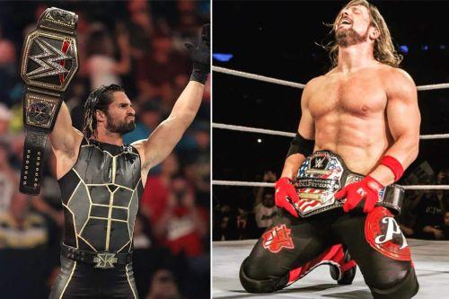 Seth Rollins and AJ Styles