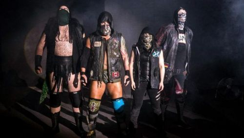 Sanity are seemingly unhappy in WWE right now
