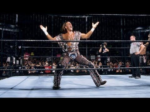 Shawn Michaels won the first ever Elimination Chamber match in WWE history
