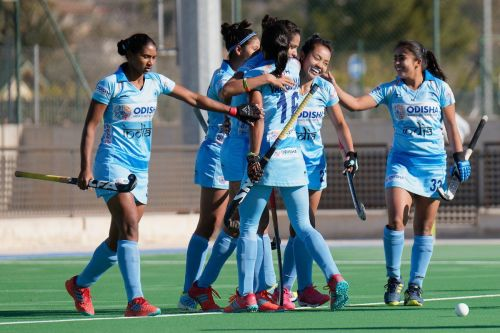 Indian Womens' Hockey team