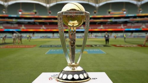 The trophy that Australia would look to defend while 9 other teams will battle to make it their own
