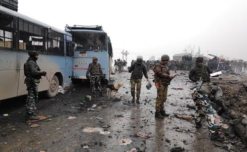 More than 40 CRPF personnel were killed in the horrific incident (Credits- NDTV.com)