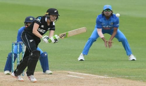 Amy Satterthwaite remained not out on 66
