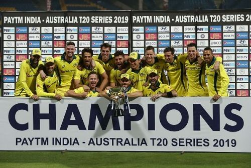 Australia clinched the T20I series 2-0