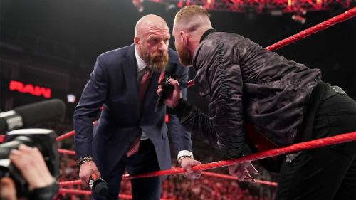 Will Triple H be his target?