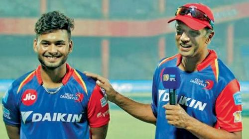 Rishabh Pant (left) was excellent for Delhi and played some outstanding knocks - including a century - in the previous edition