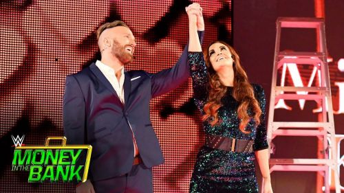 Maria Kanellis returned to WWE, with husband Mike at Money in the Bank 2017.